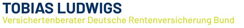 Tobias Ludwigs • Versichertenberater Deutsche Rentenversicherung (DRV)